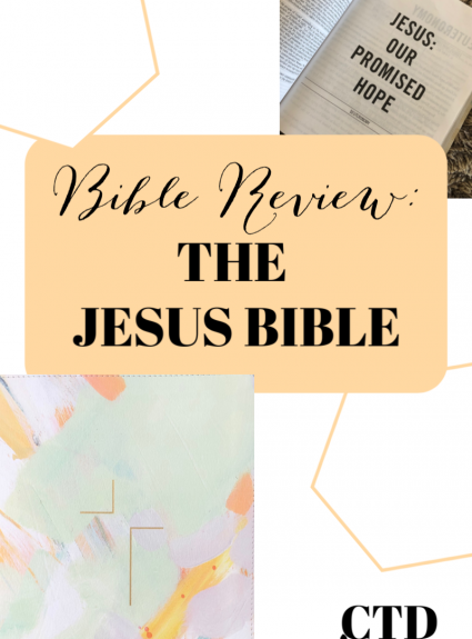 Bible Review: The Jesus Bible