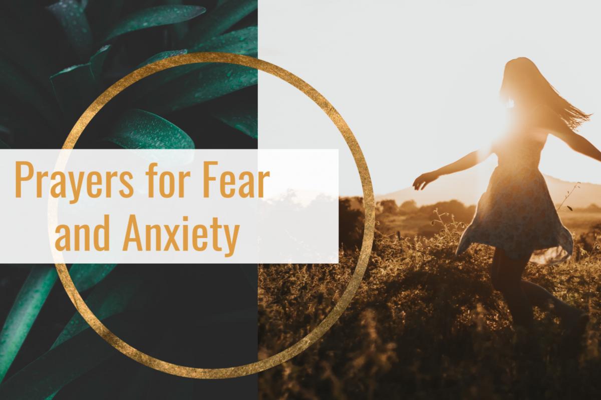 Prayers for Fear and Anxiety Featured Image #prayersforfearandanxiety #howtopray #christianprayers #spiritualwarfare #prayerwarriors #prayersforpeace